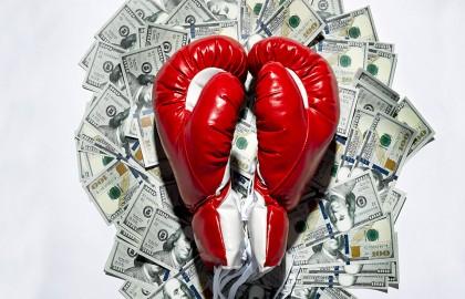 money-glove